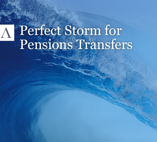 Pension Storm front cover