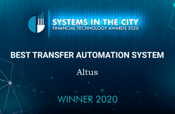 Altus receives two awards at the Goodacre Systems in the City Ceremony