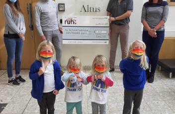 Altus Golf Day 2020 raises £7000 for the Children's Ward at Bath's RUH