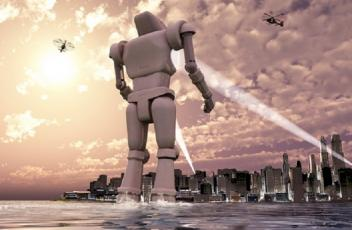 Land of the Giants – when robo worlds collide Part 1