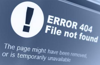 404 Error – great customer service not found