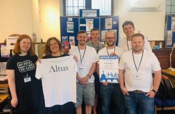 The Hub - Repair Workshop, Volunteering Day