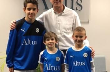 Altus renews its support to the Bath and Wiltshire School Sports Trust