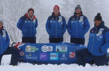 A message from Team Bobsleigh Brad